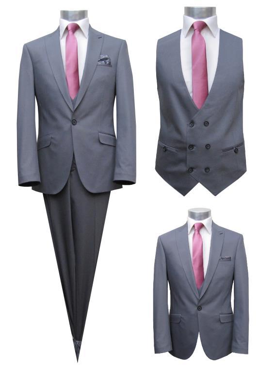 Modewelt ShopHerrenausstatterEleganter Herrenanzug 4 Teilig