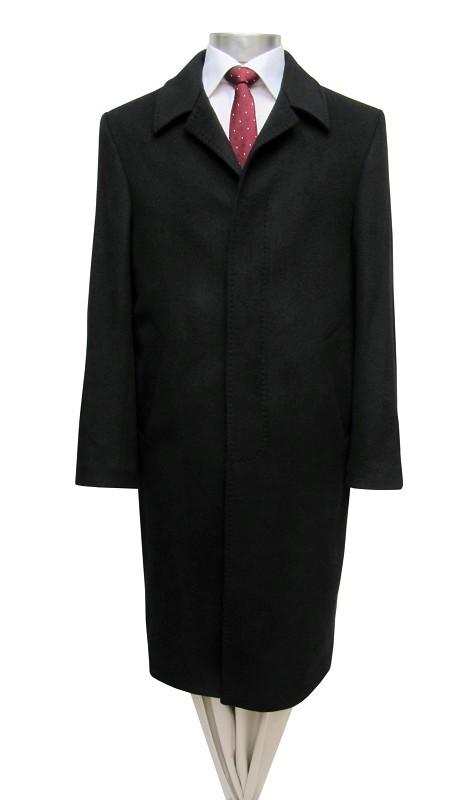97cf62f0cd36 Modewelt Shop - Muga Herren Mantel lang Schwarz