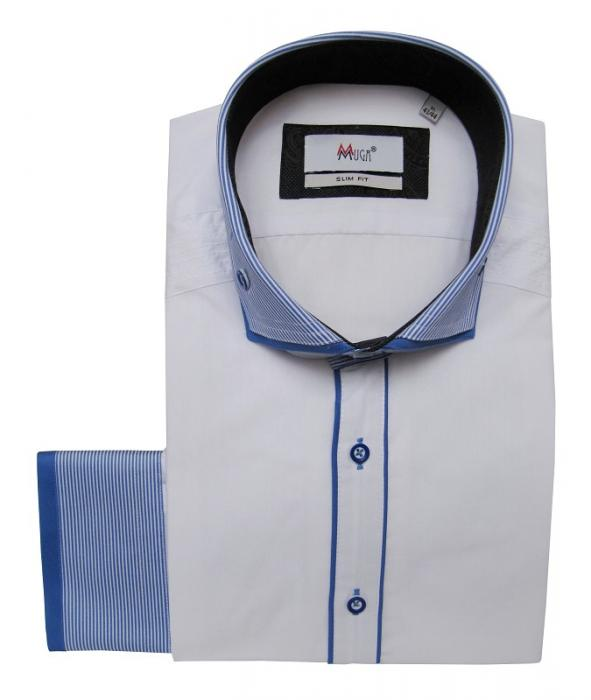 Button-down Kragen Slim-fit Hemd